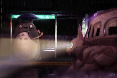 FYLD Totoro2 by WhiteFer