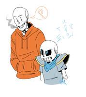 Underswap doodle by Gameaddict1234