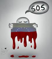 S.O.S Venezuela by AnaisMataMata