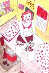 strawberry gashes by pantypuke
