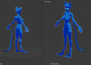 Blender Felicia_WIP by felifan