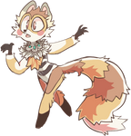 Raccoon/redpanda adopt! OPEN by lUPISVUIPES