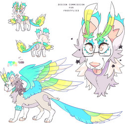 Design Commission For Frostflies by lUPISVUIPES