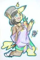 Commission- Pikachu TF by FezMangaka