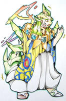 Ghetsis's Mega Tyranitar TF by FezMangaka
