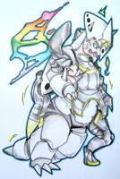 Wikstorm's Mega Aggron TF by FezMangaka
