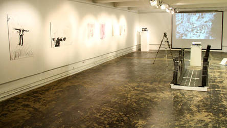 HALF WHALE HALF GORILLA Exhibit view by Lordnet