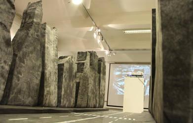 Godzilla Audition, city scape platform by Lordnet