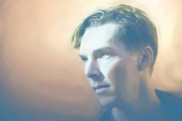Cumberbatch by Lestatslover84