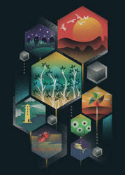 Geometrical Wonders by dandingeroz