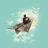 Paper Aeroplane by dandingeroz