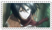 Stamp Mikasa by kaiser-Guille