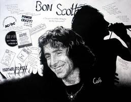 Bon Scott by GoldenYears