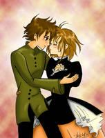 Tsubasa: Sakura y Shaoran by Dark-Elve