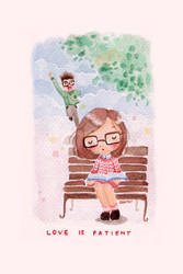 Love Is Patient by dailyclara