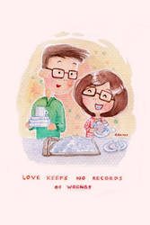 Love Keeps No Records of Wrongs by dailyclara