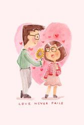 Love Never Fails by dailyclara