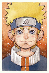 Naruto Uzumaki by crash-burn-implode