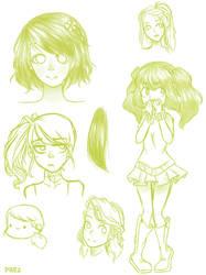 Sketches 4 by PrezLollipop