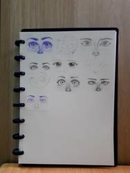 5 artists + pencils = this by PrezLollipop