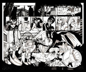 BAT DOUBLE PG SPREAD by ironhed577