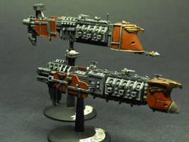 Voss Pattern Light Cruisers by Comrade-K-Rad