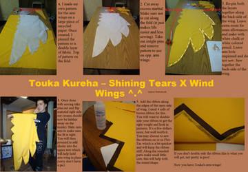 Touka Kureha Arm Wings by TheRestlessCosplay