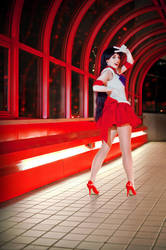Sailor Mars: Soldier of Passion by TheRestlessCosplay