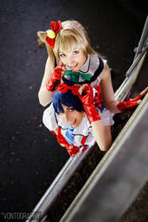 Love Live! Umi and Kotori by TheRestlessCosplay