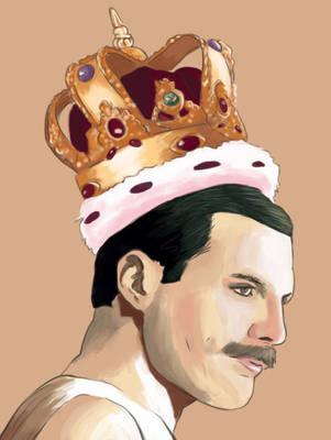Freddie Mercury by Misaky