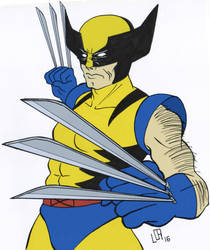 Wolverine by Misaky