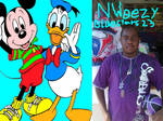 N Weezy BlueStars23 Mickey Mouse Donald Duck by NWeezyBlueStars23