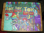 Toy Story Design Colorful Drawing by NWeezyBlueStars23
