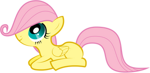 Happy Fluttershy by Omniferious