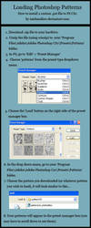 Loading Photoshop Patterns by michmellow