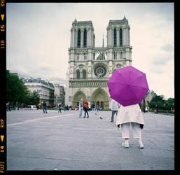 Parapluies a Paris II  -  Umbrellas in Paris II by Szylvester