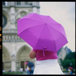 Parapaluies a Paris  -  Umbrellas in Paris by Szylvester