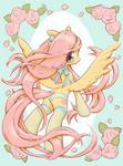 A Pegasus Wearing Lingerie by unousaya