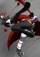 Violence Panda Girl by unousaya
