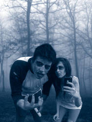 zombies in the fog by petetyson