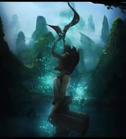 Lake of Mystical Dreams by HorusFX