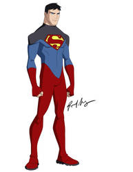 Superboy costume by robert023