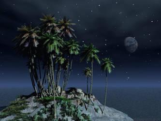 Small Isle by zombiedepot