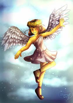 Angel of Mercy [+Speedpaint] by Shimmer-Shy