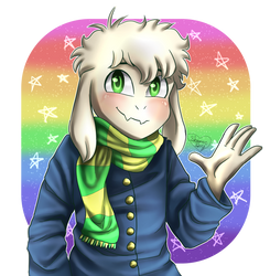 Asriel Request Thing by Shimmer-Shy