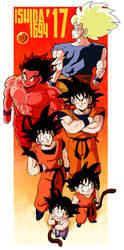 History of Goku by Ishida1694