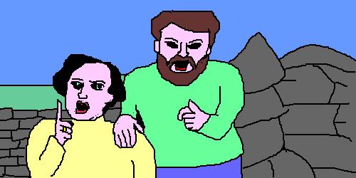 Oekaki: Mulligan and O'Hare by V4NN1