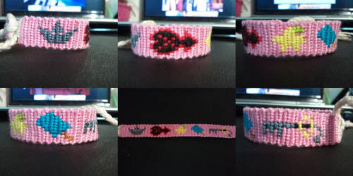 Kingdom hearts bracelet by SammieySqueakers
