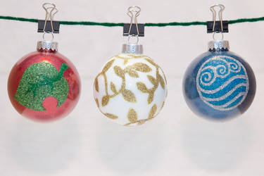 Animal Crossing, Avatar Water Ornaments by cutekick