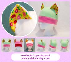 Cherry Cat Hat by cutekick